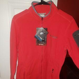 Womens Polartec pink fleece jacket